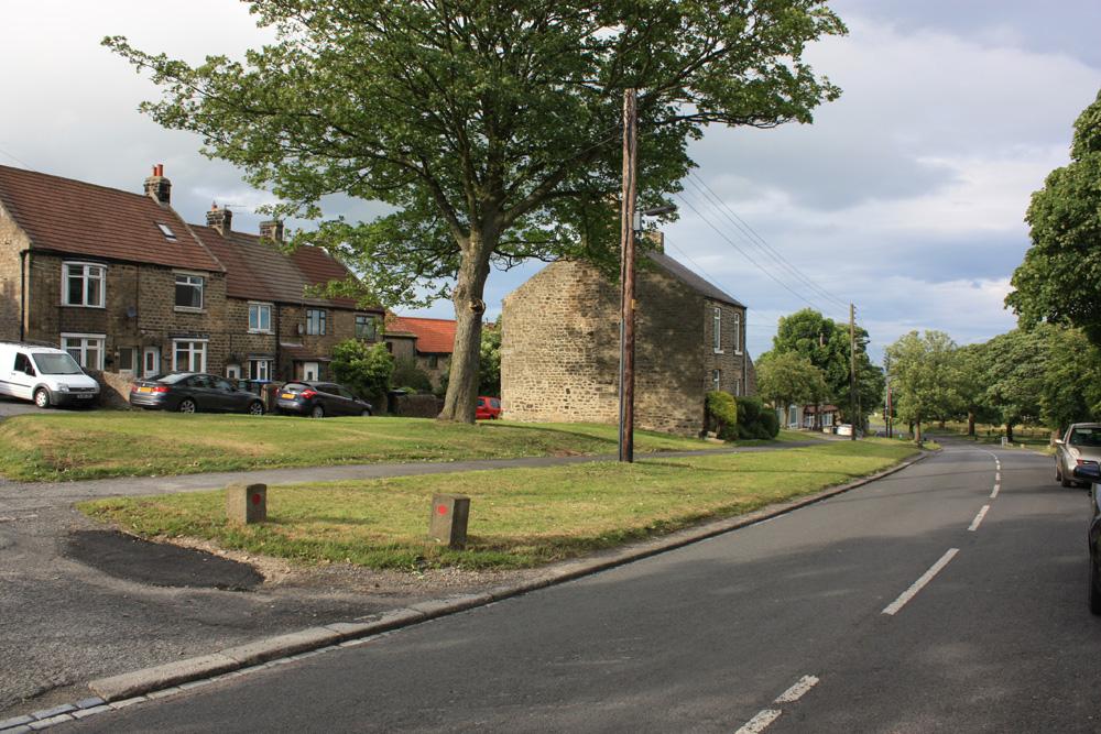 Cockfield village