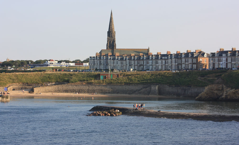 Cullercoats Bay.