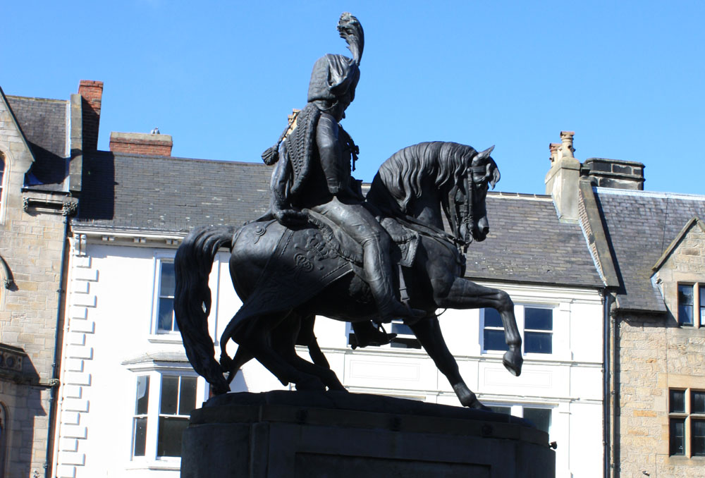 The 'man on the horse' Durham
