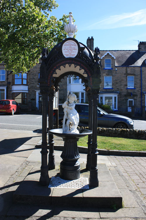 Memorial fountain of the London Lead Company, Middleton-in-Teesdale