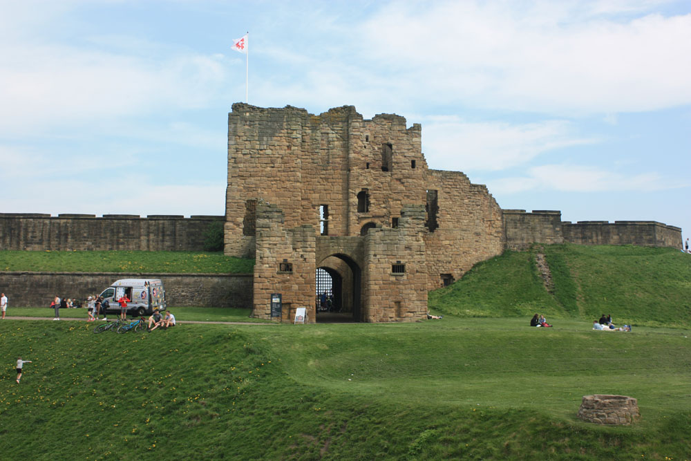 Gateway to Tynemouth castle and priory