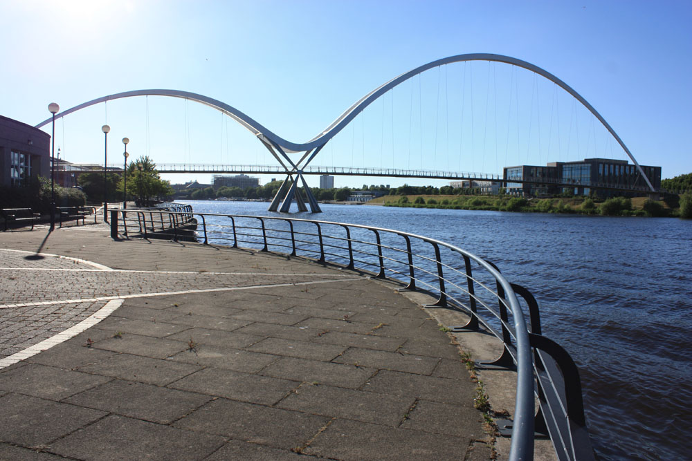 Infinity bridge, Stockton.