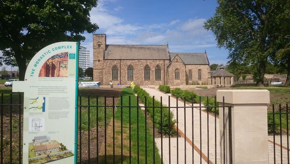 St Peter's church at Monkwearmouth, Sunderland