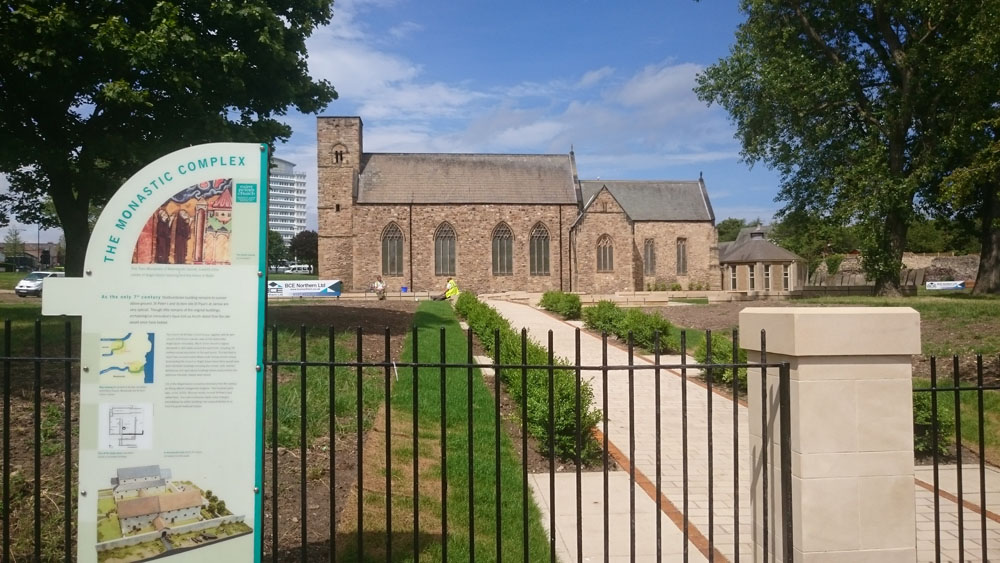 St Peter's church at Monkwearmouth, Sunderland