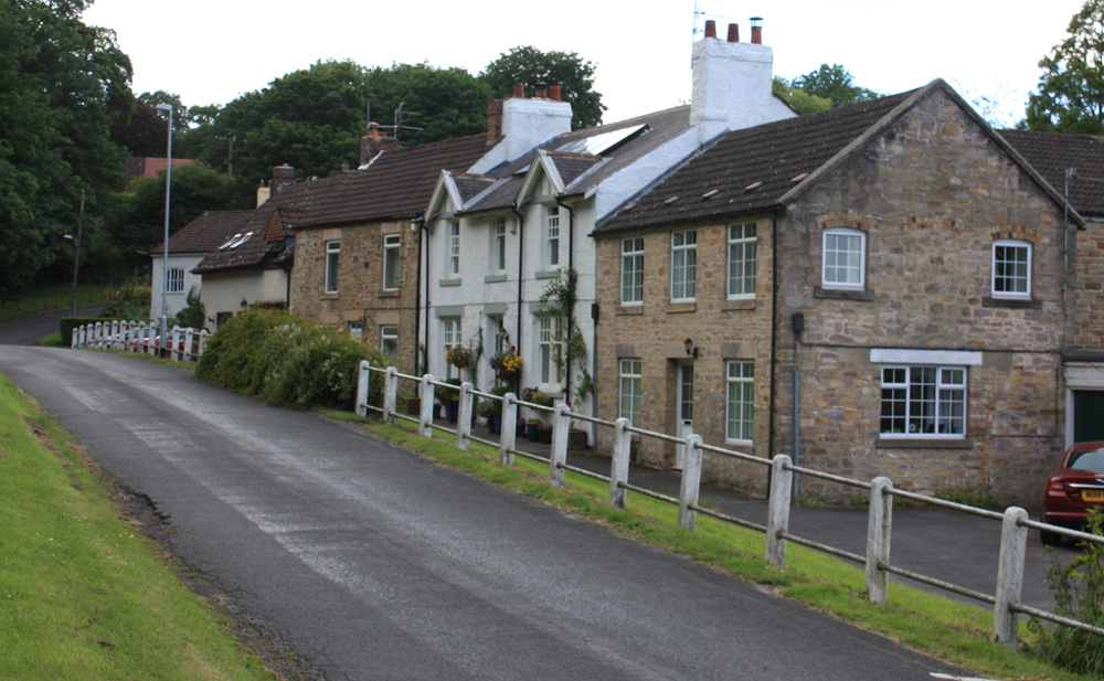 Redworth village.
