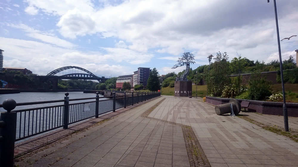 The River Wear at Sunderland
