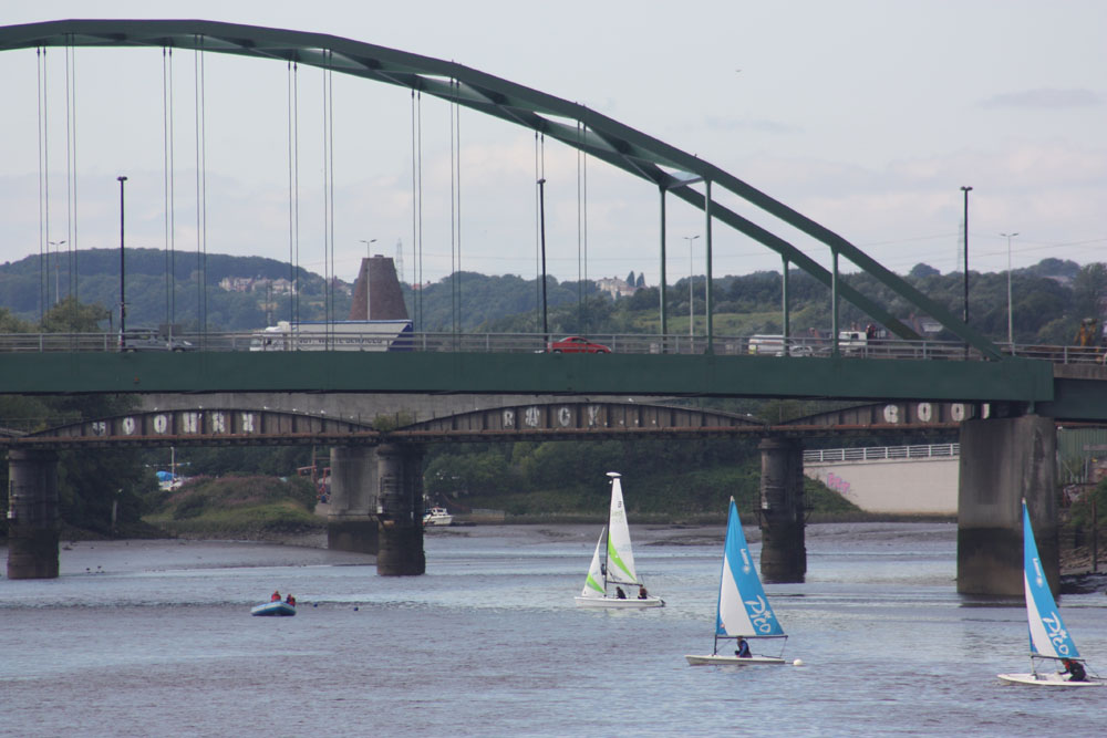 The Scotswoood Bridge and Lemington Glass Cone