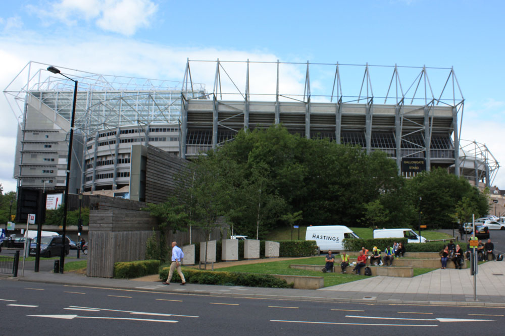 St James' Park Newcastle