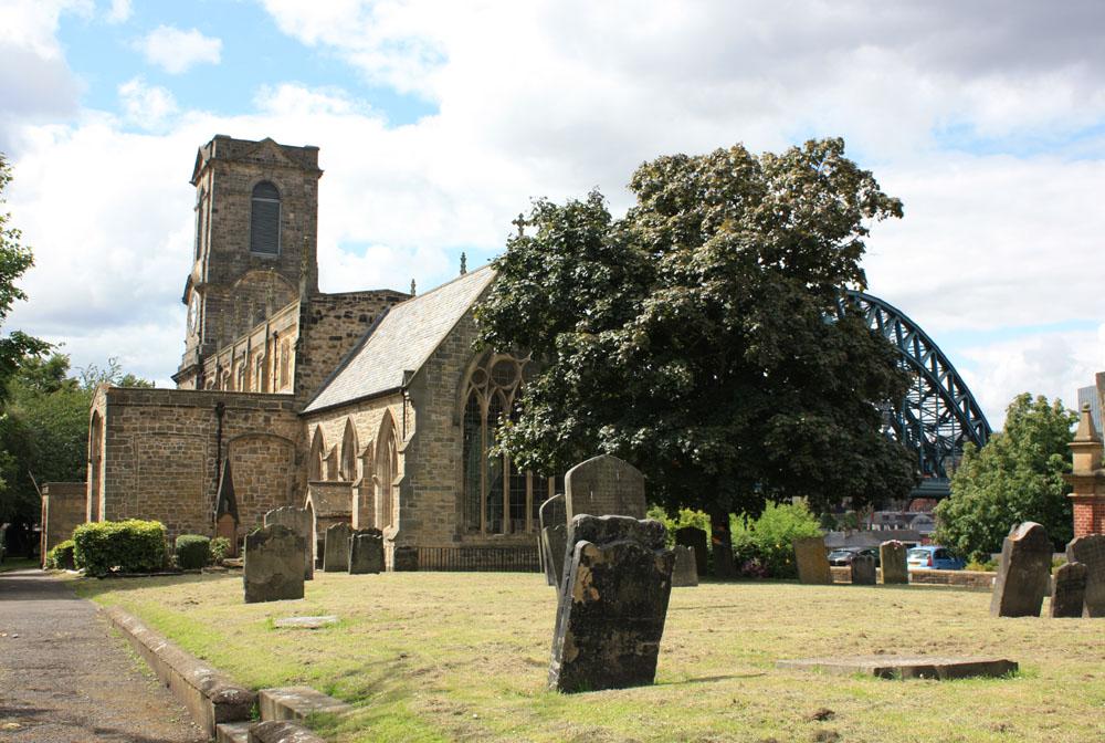 St Marys churchyard Gateshead