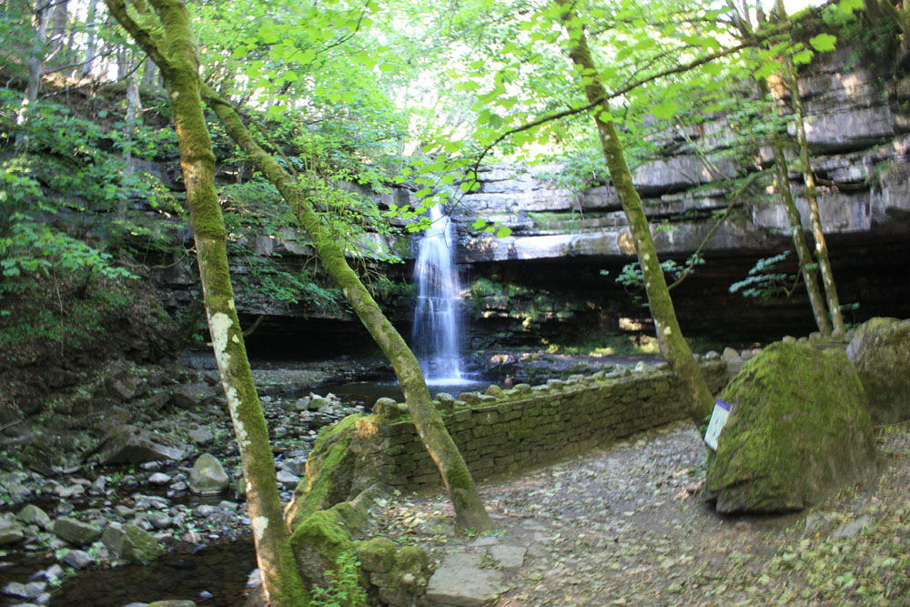 Summerhill Force and Gibson's Cave.