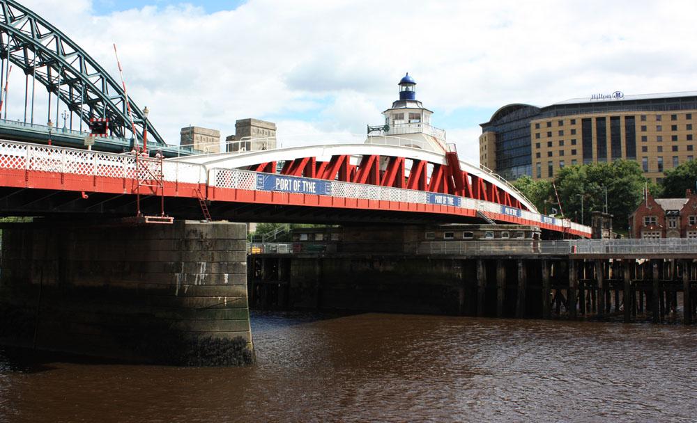 The Swing Bridge and Hilton Hotel