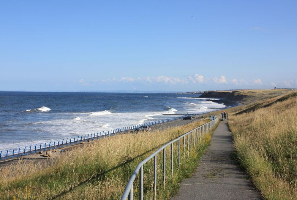 The coast at Hendon