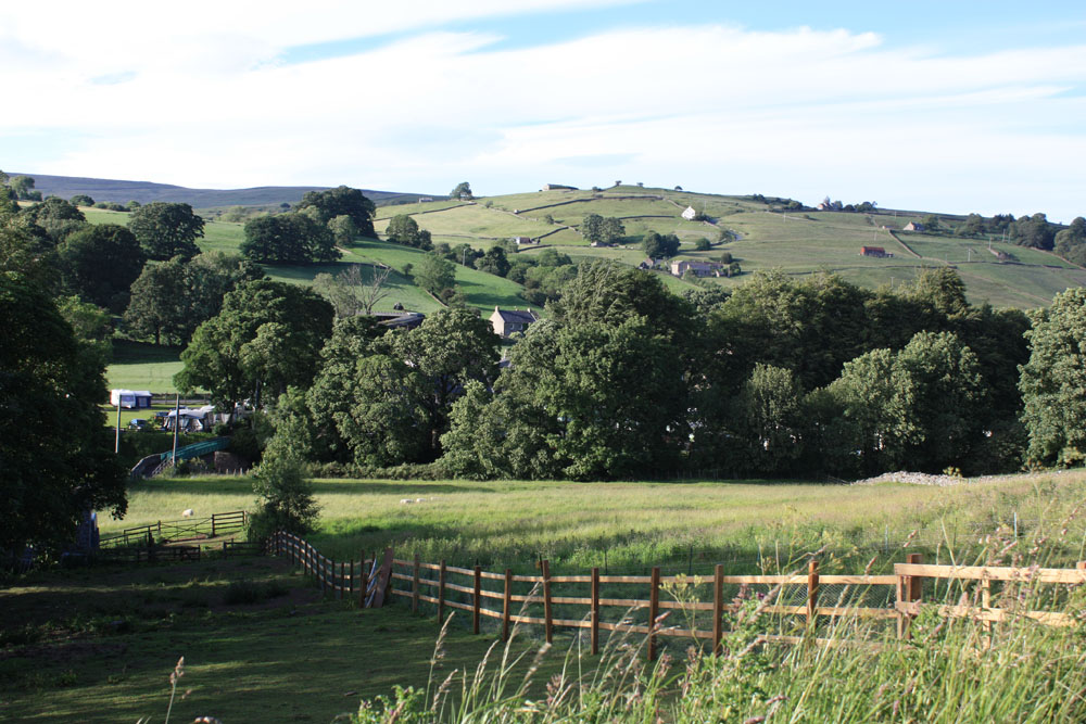 Upper Weardale scenery near Westgate.