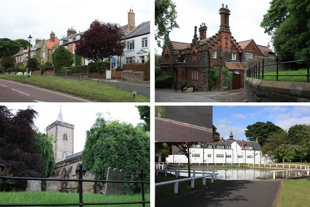 Whitburn village scenes