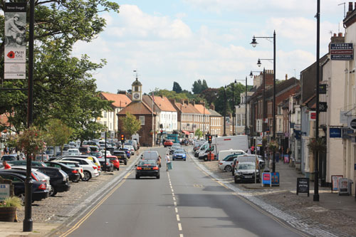 The Yorkshire town of Yarm lies within a loop of the River Tees