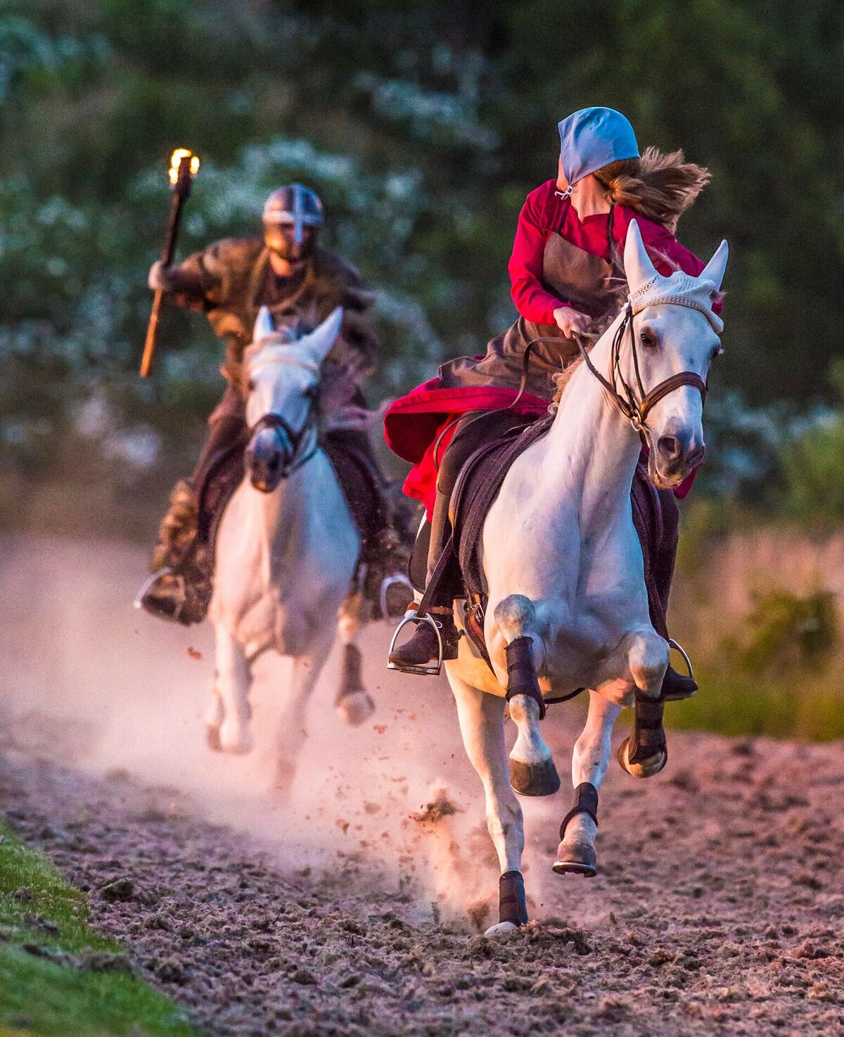 Kynren features plenty of action scenes