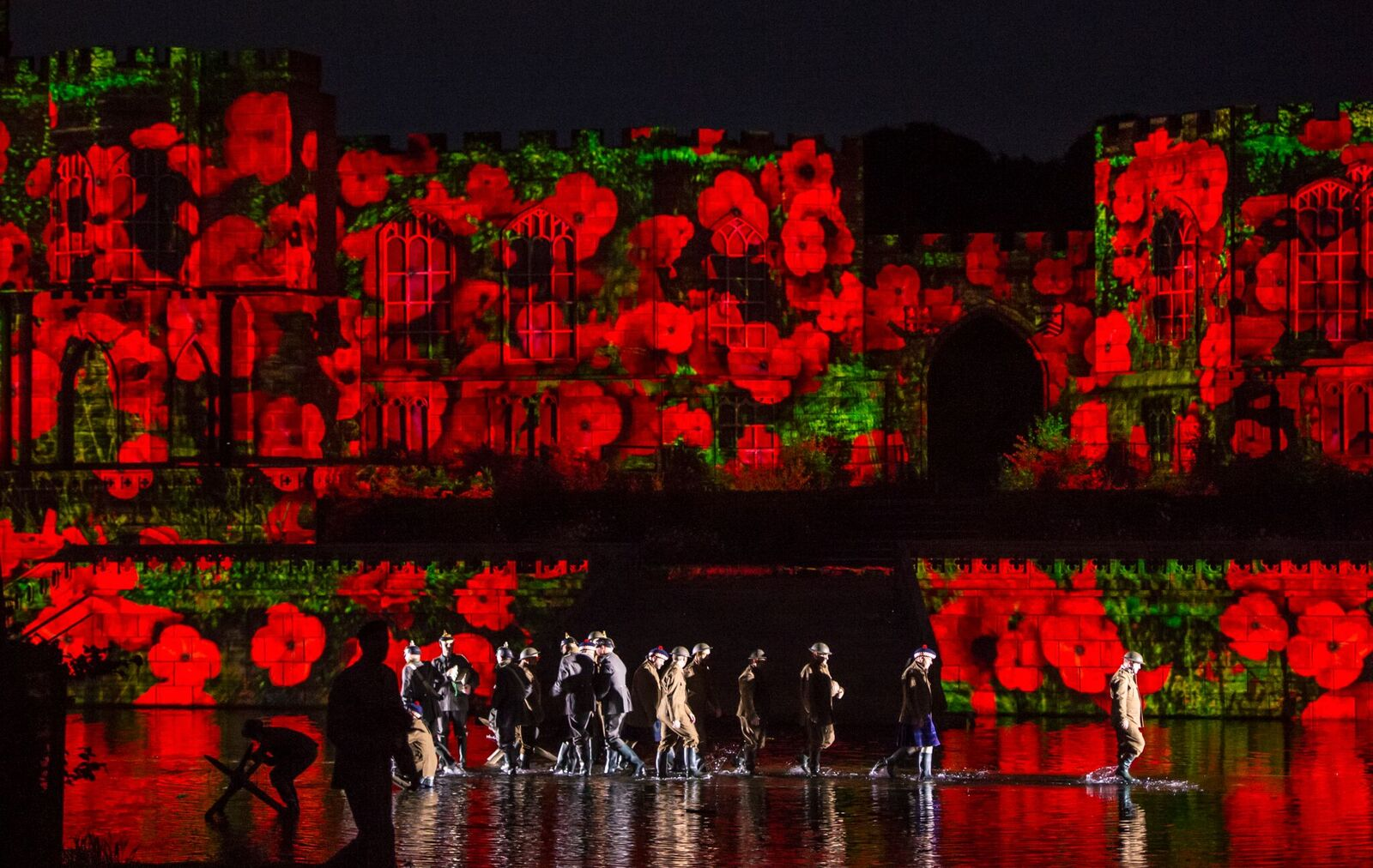 Kynren: Poppies in a poignant moment