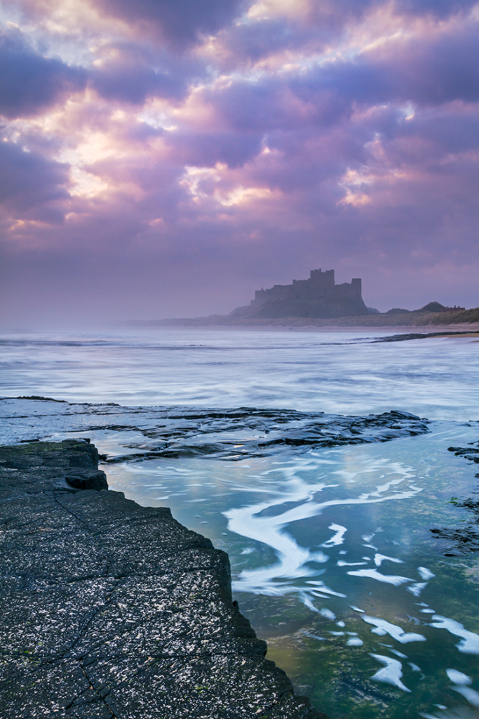 Bamburgh Castle. Photo David Taylor