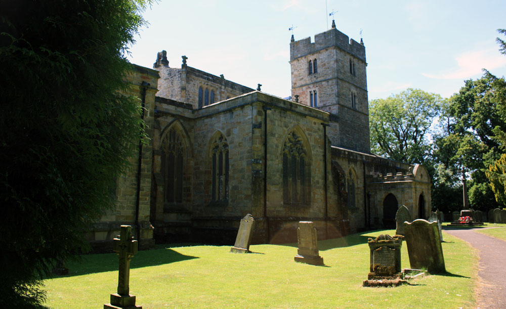 Brancepeth church.