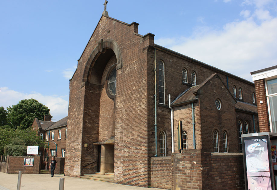 Catholic church of St Patrick, Consett.
