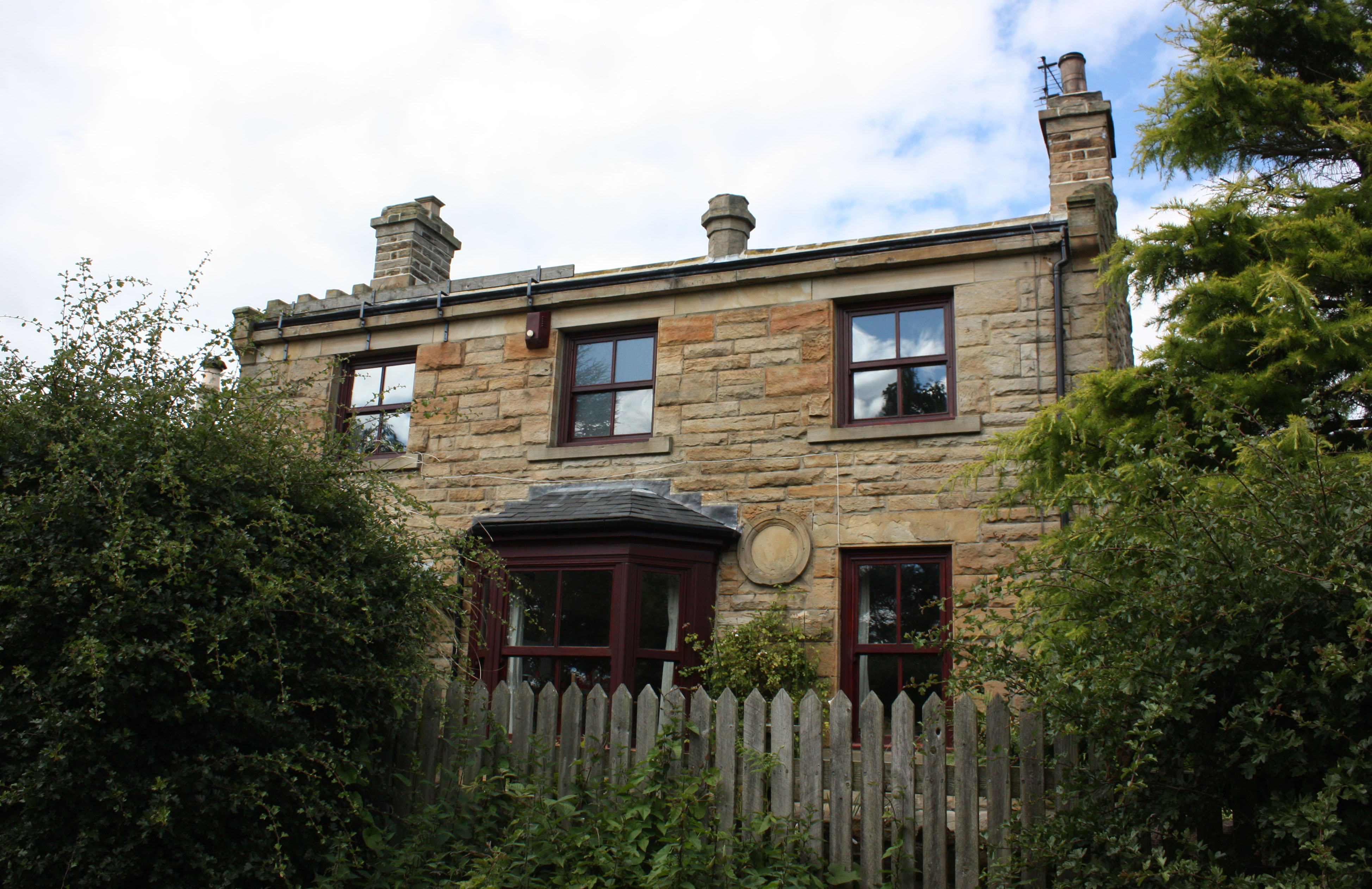 Former Knitsley Staion house