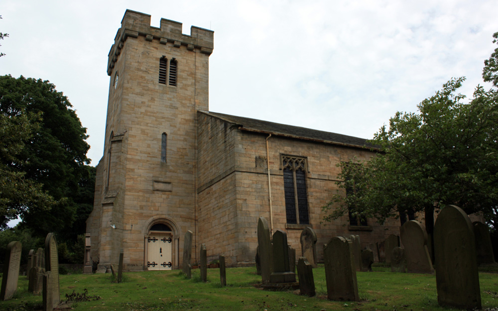 St Margaret's church. Tanfield