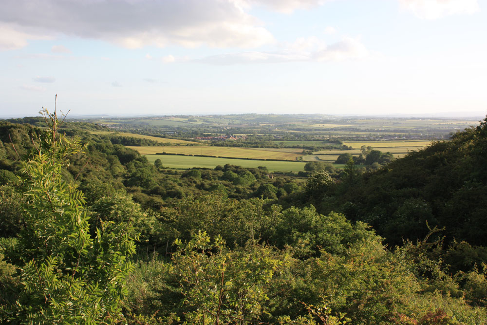 View from Quarrington Hill.