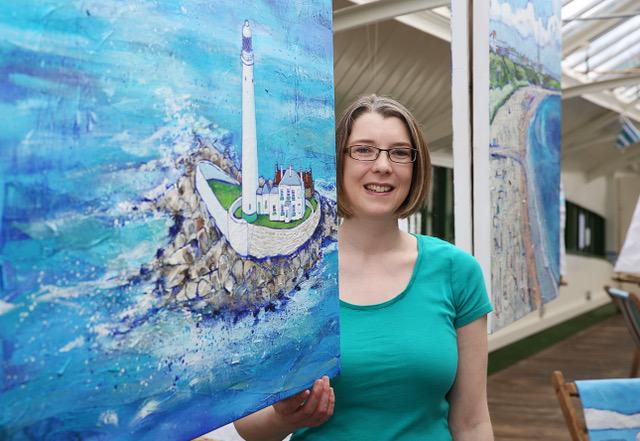 Newcastle-based artist. Joanne Wishart