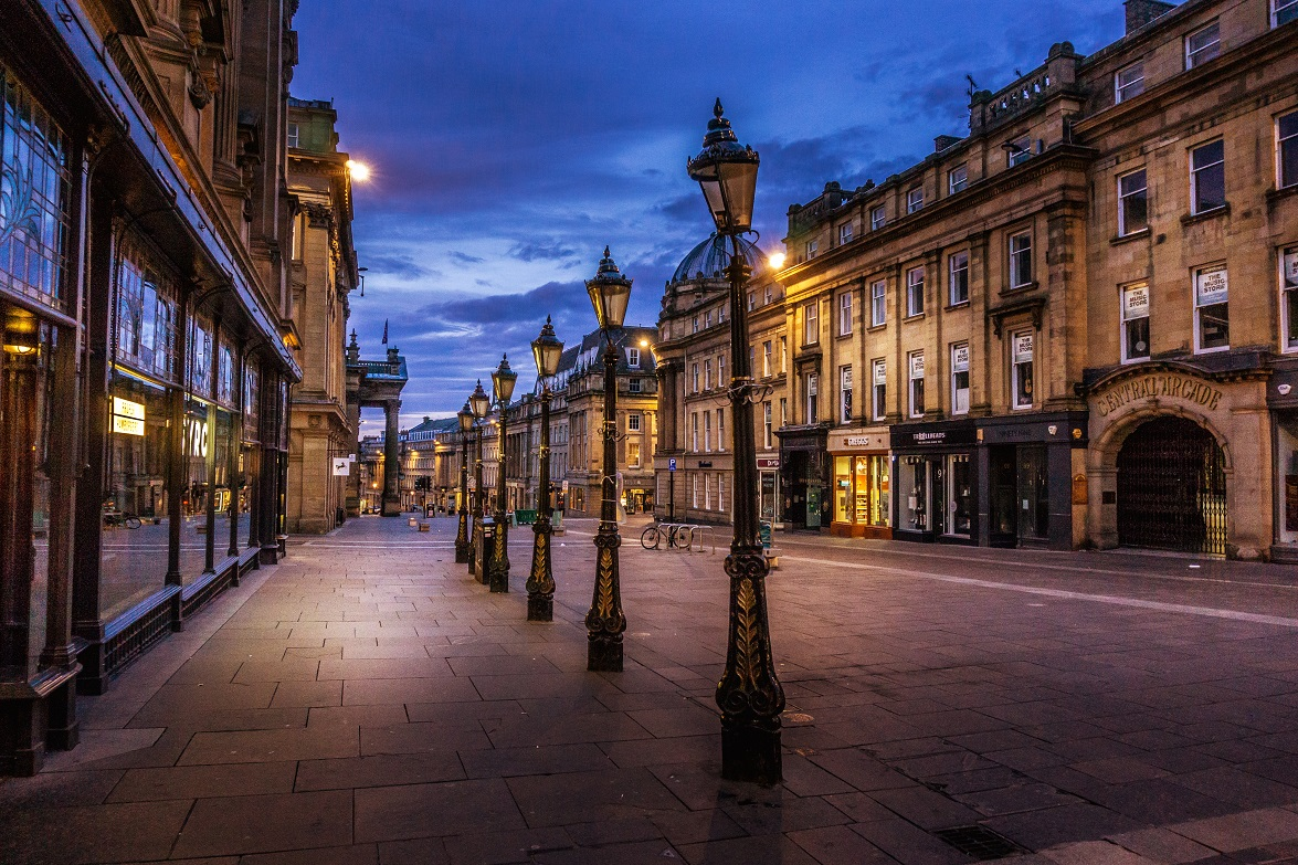 Grey Street @ Dawn by Lang Shot Photography