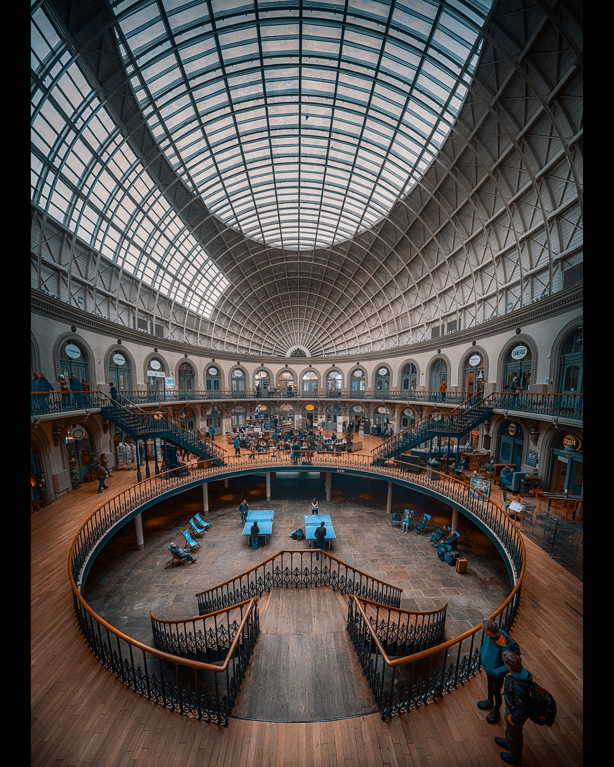 Leeds Corn Exchange by Lang Shot Photography