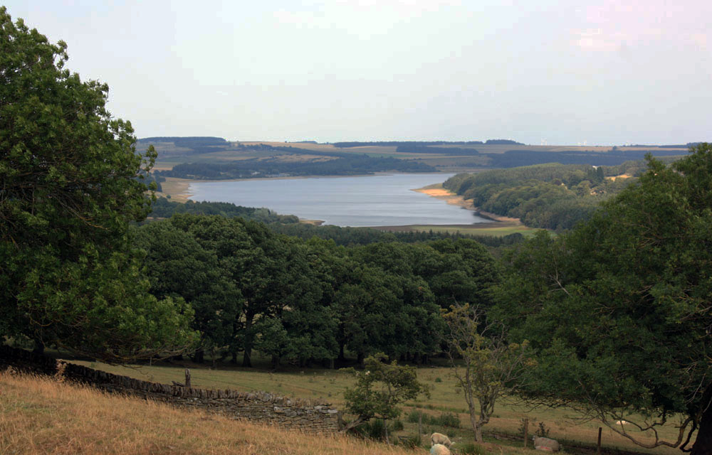 The Derwent Reservoir near Blanchland