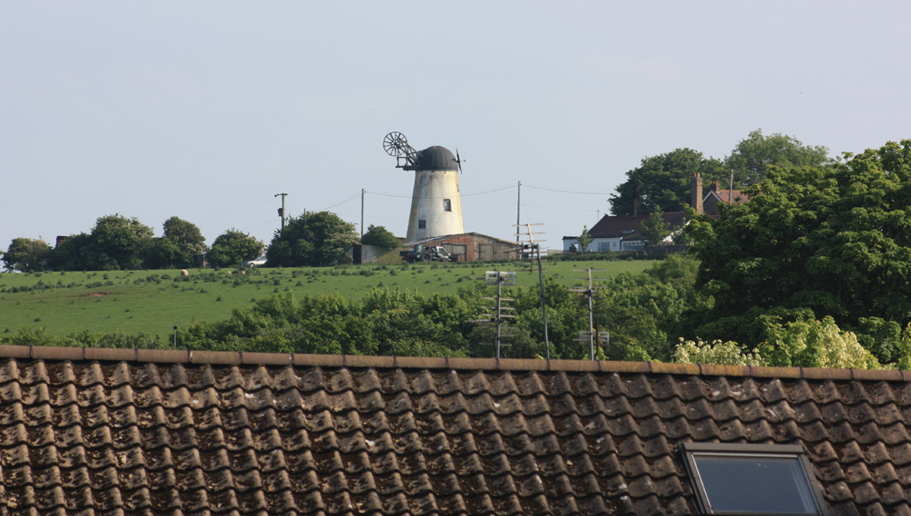 Windmill. Hart village