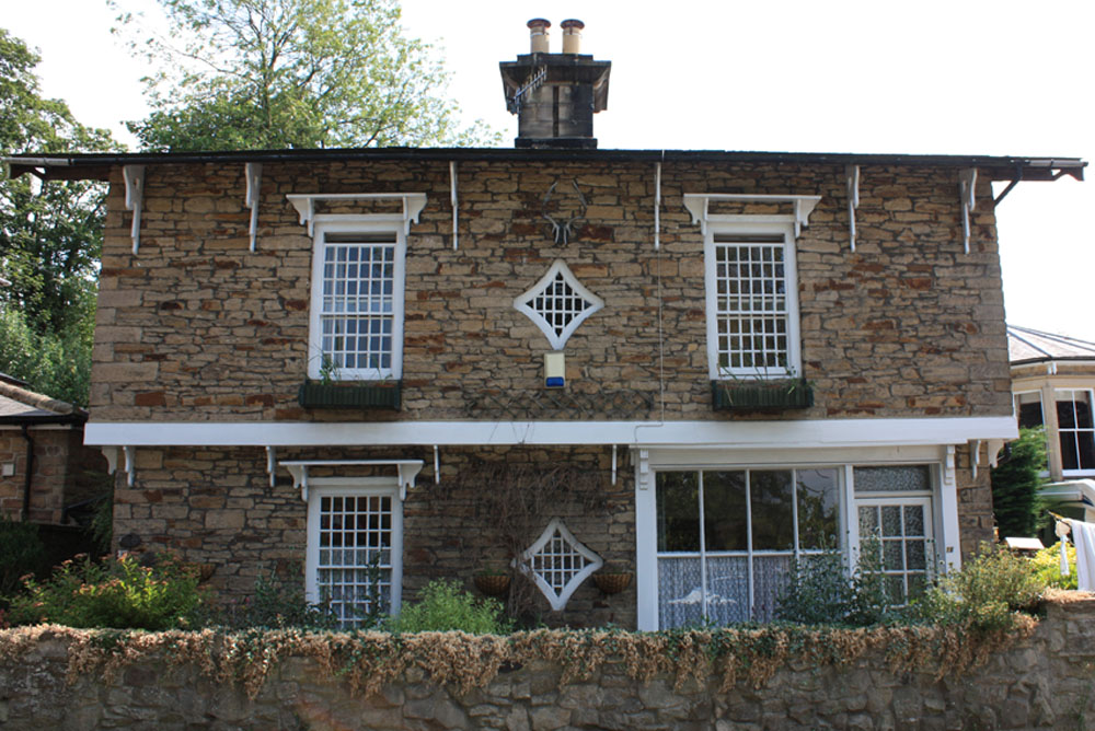 Swiss style cottage associated with Shotley Bridge spa