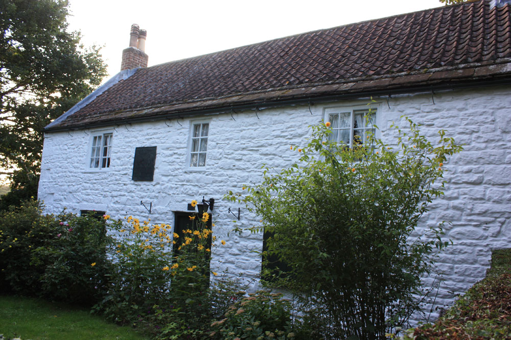 George Stephenson's birthplace at Wylam