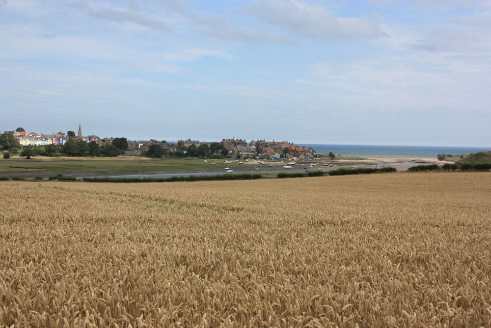 View of Alnmouth.