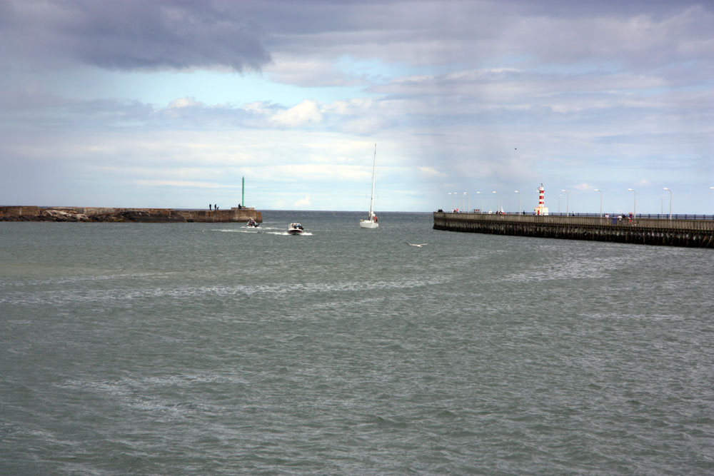 Harbour, river mouth Amble