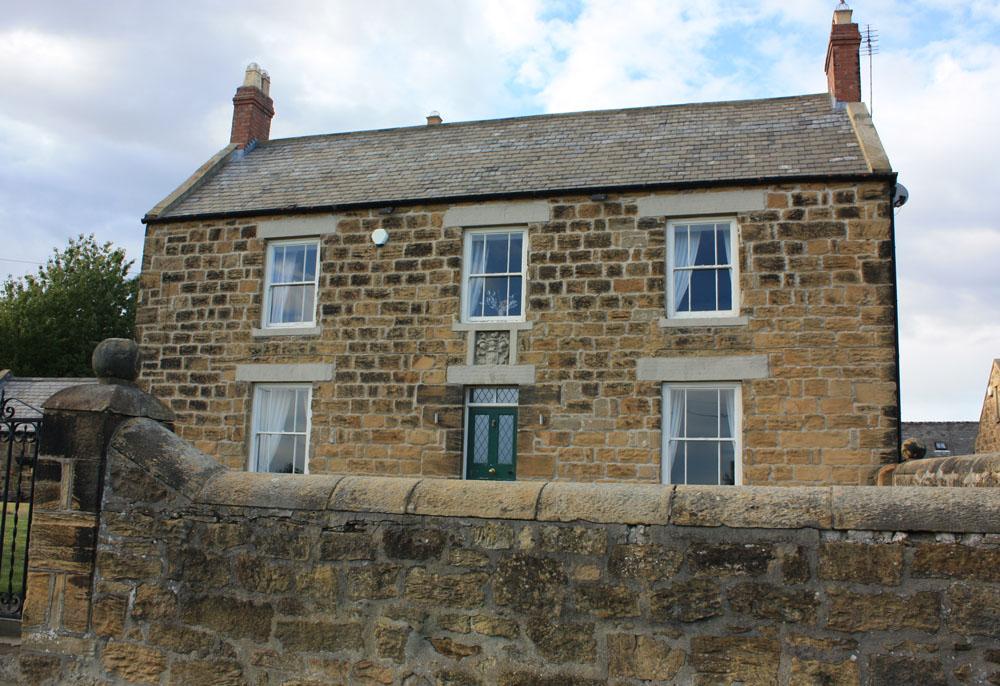 Farmhouse at old Ashington