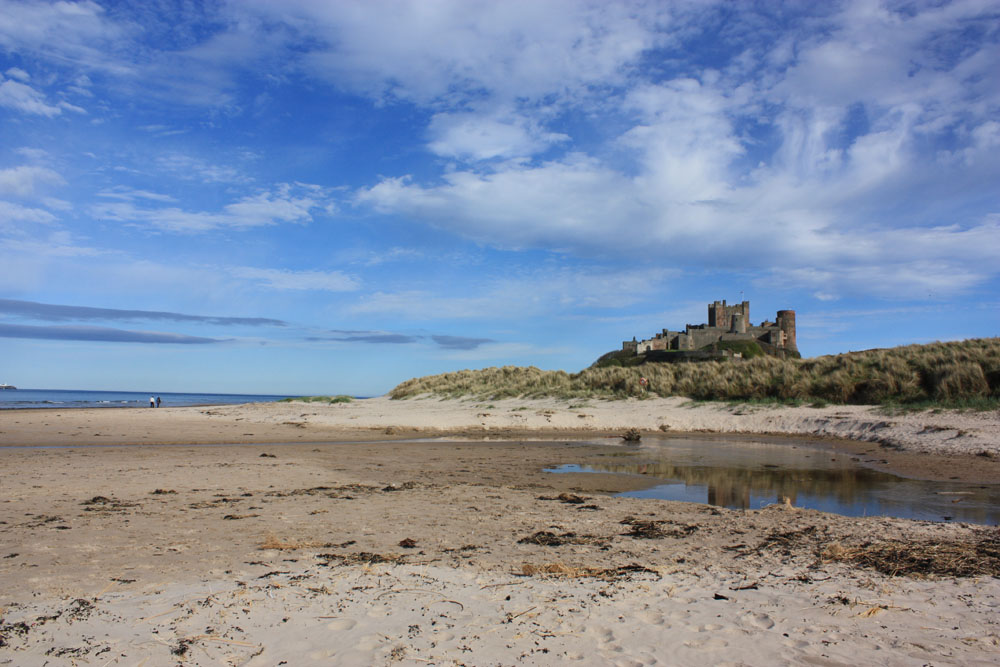Beautiful Bamburgh.