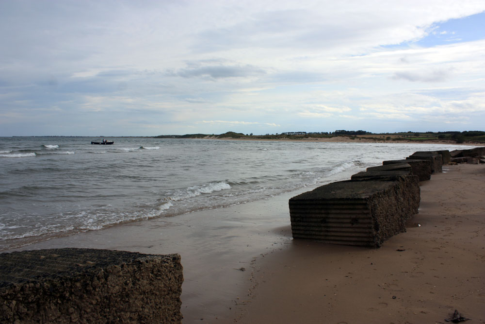 The beach at Alnmouth