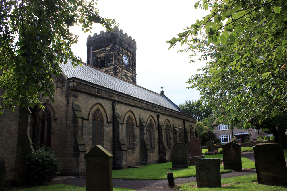Bedlington church.
