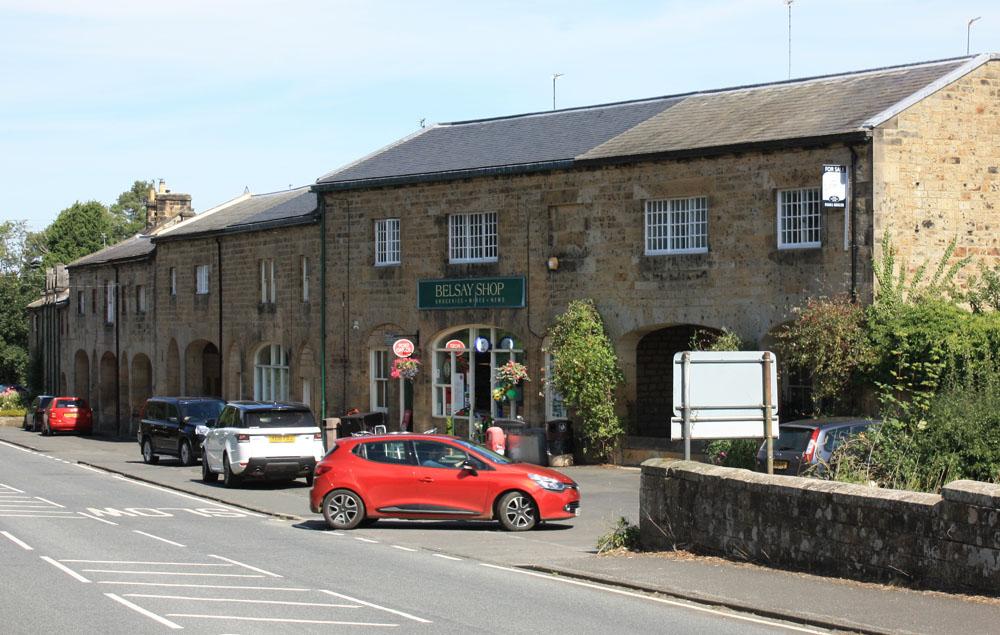 Belsay village.
