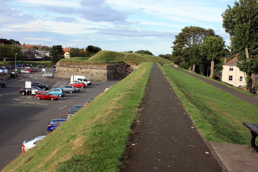 Town walls, Berwick