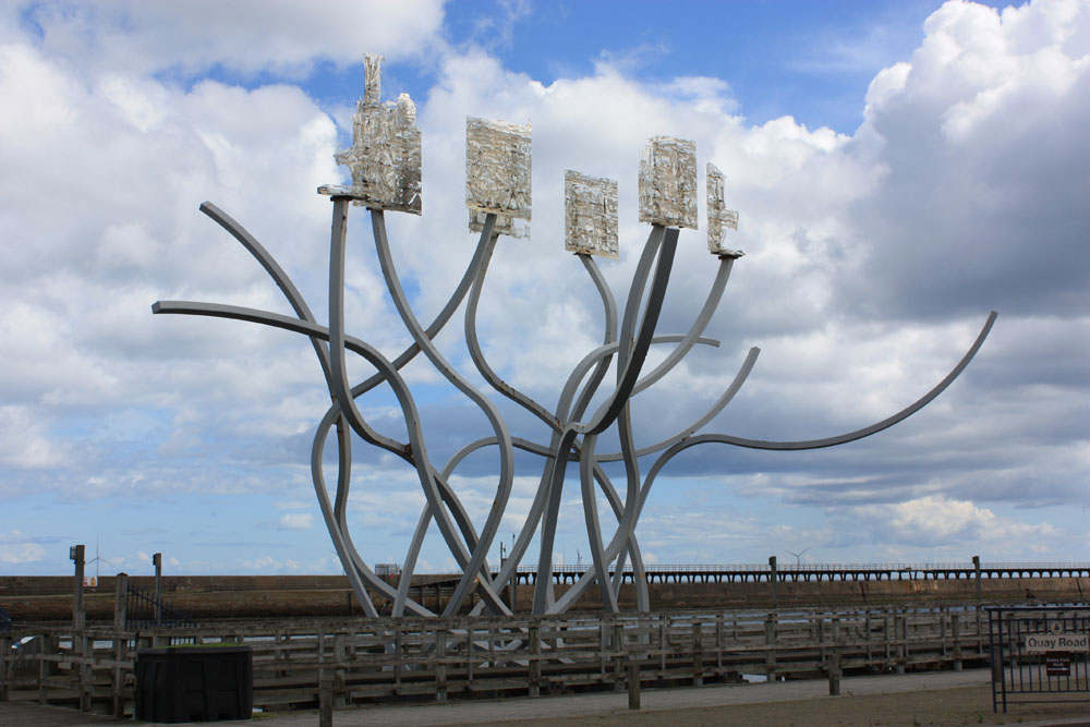 Spirit of the Staithes, Blyth.