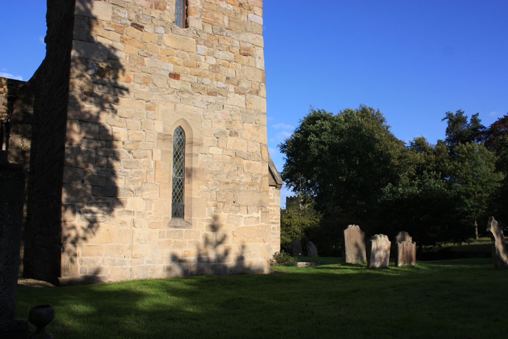 Two churches at Bywell