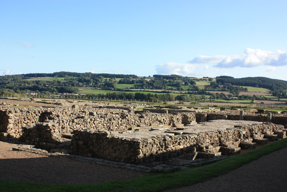 Roman town site at Corbridge