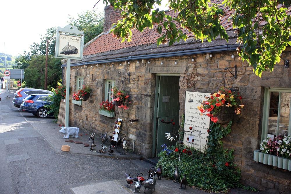 Craft gallery Corbridge.