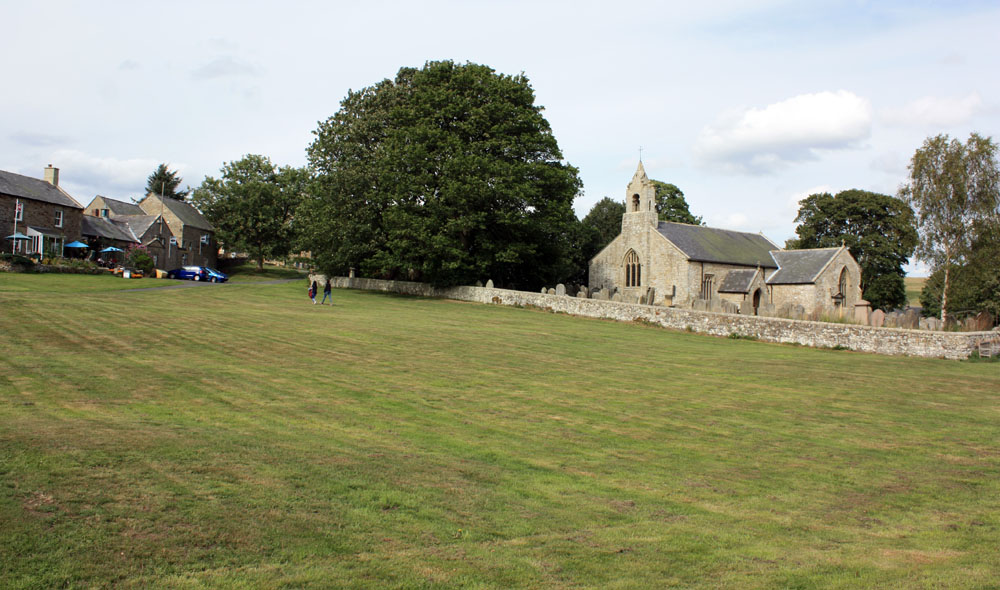 Elsdon church