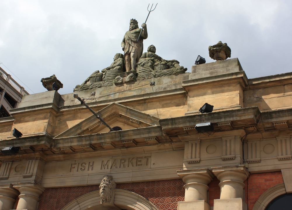 Old Fish Market, Riverside music venue Newcastle
