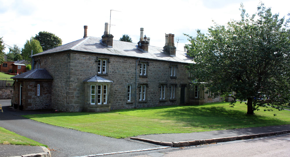 Cottages at Ford village.