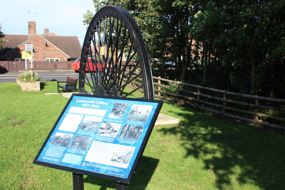 Site of Lynemouth Colliery.